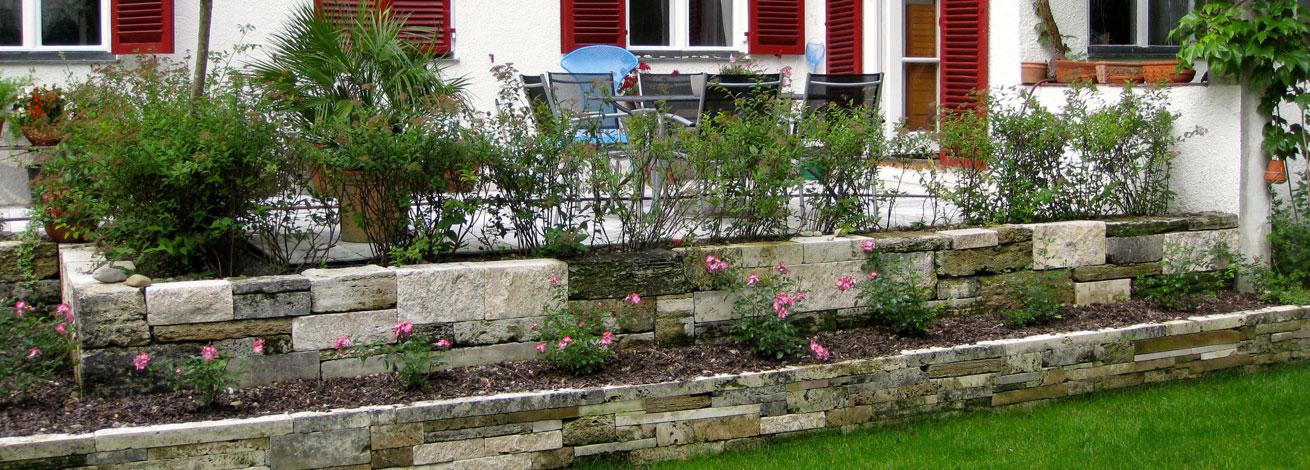 Garten- und Terrassenanlage GartenBaur Türkheim